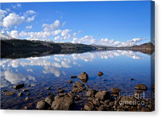 Isle Of Skye Canvas Print by Aditya Misra