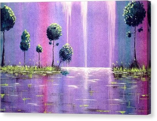 It Was A Colorful Night Canvas Print