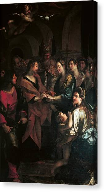 Procaccini Canvas Print - Italy, Emilia Romagna, Parma, National by Everett