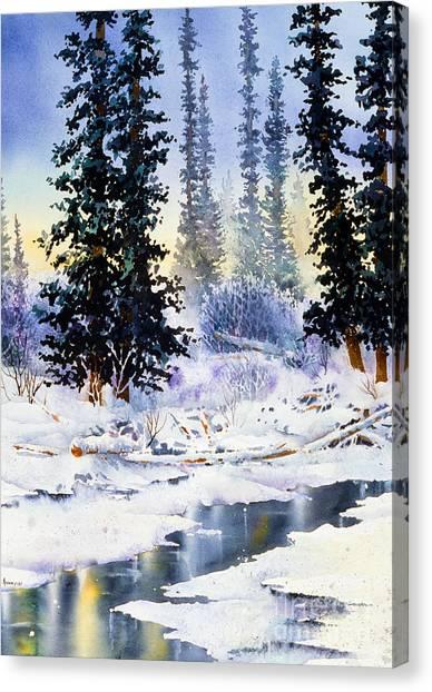 Jack Creek The Wrangells Canvas Print