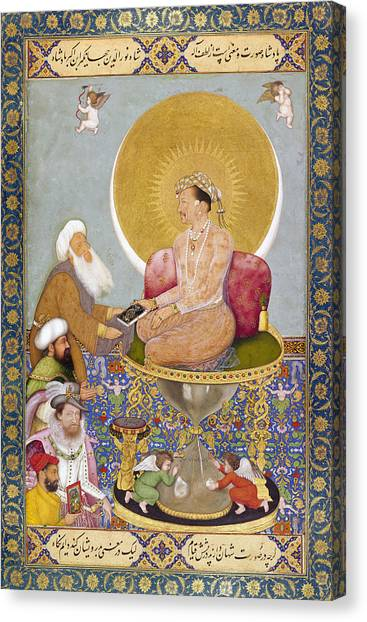 Carousel Collection Canvas Print - Jahangir (1569-1627) by Granger