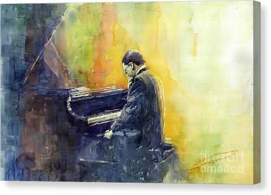 Instruments Canvas Print - Jazz Herbie Hancock  by Yuriy Shevchuk