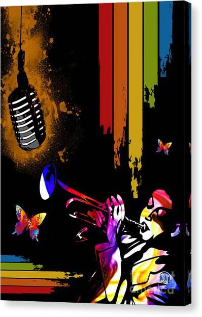 Jazz Canvas Print by Mundo Arte