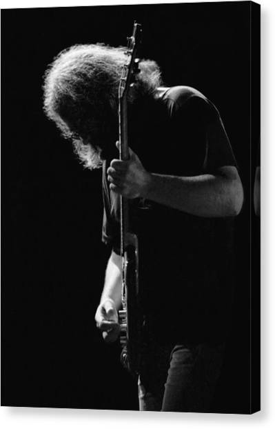 Guitarist Canvas Print - Jerry Sillow by Ben Upham