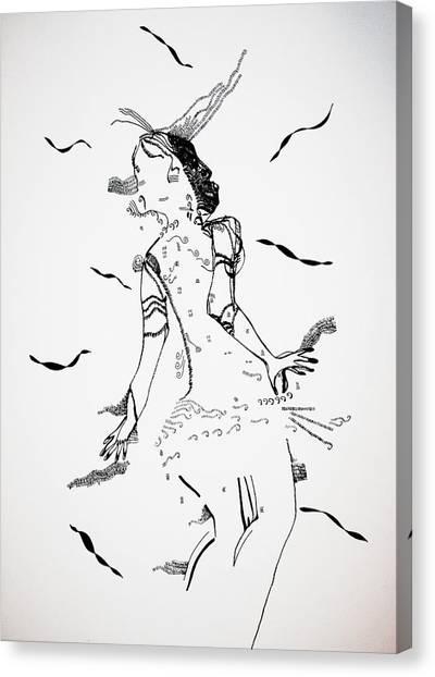 Gloria Canvas Print - Jerusarema Or Mbende Dance - Zimbabwe by Gloria Ssali