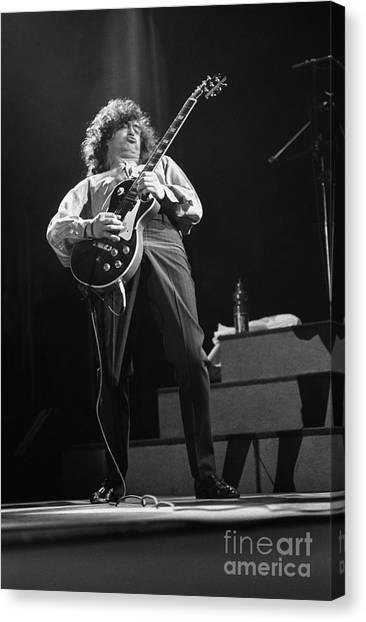 Jimmy Page Canvas Print - Jimmy Page by Concert Photos