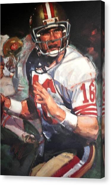 Joe Montana Canvas Print