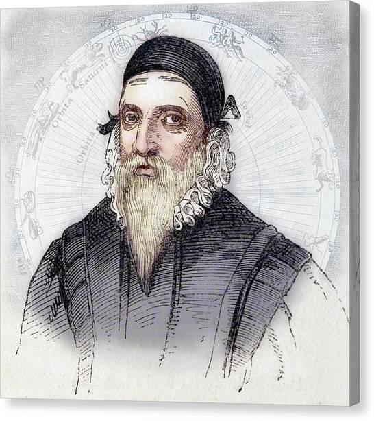 Philosophers Stone Canvas Print - John Dee by Paul D Stewart