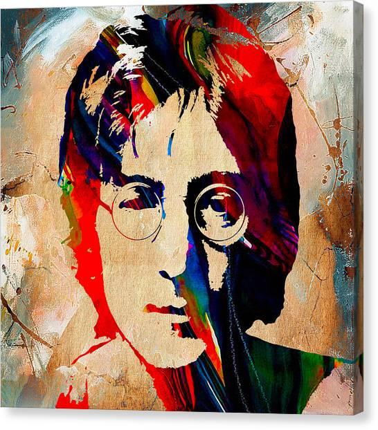 John Lennon Wall Canvas Prints (Page #2 of 7) | Fine Art America
