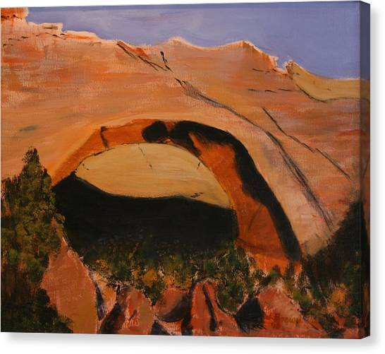 Johnson Arch Canvas Print
