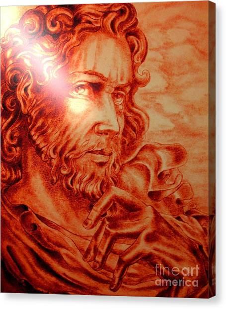 Judas Iscariot Canvas Print
