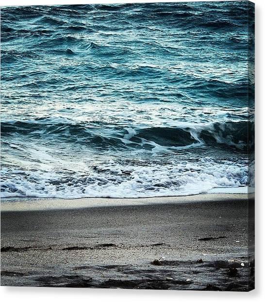 Jupiter Canvas Print - #jupiter #beach #ocean #florida by Jake Work