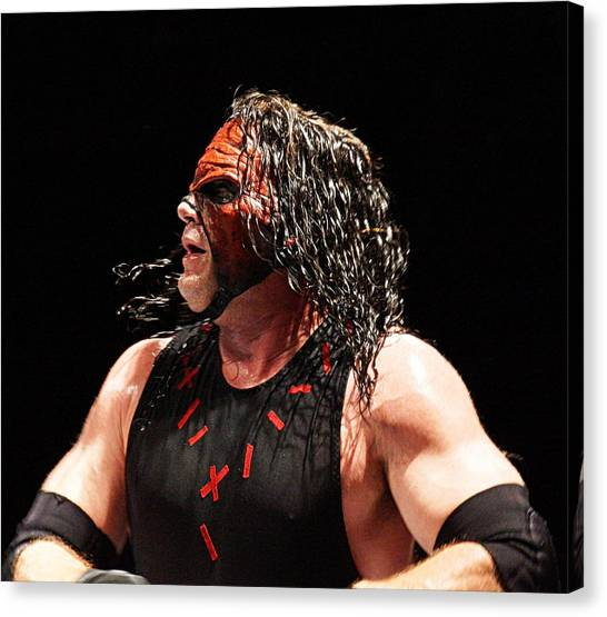 Kane The Wrestler Canvas Print