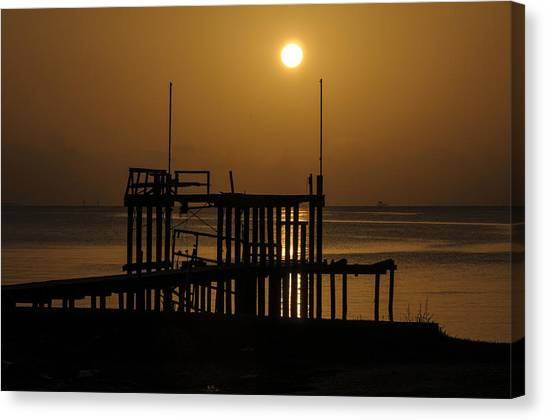 Keemah Sunrise Canvas Print