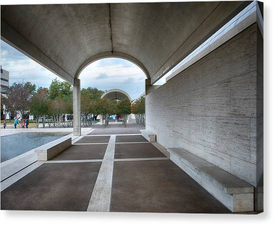 Kimbell Art Museum Fort Worth Canvas Print