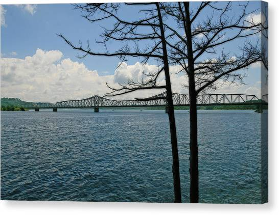 Kimberling City Bridge Canvas Print