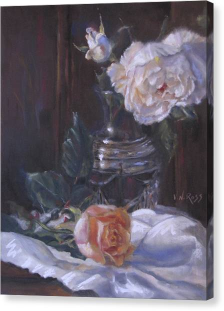 Kippy's Roses Canvas Print