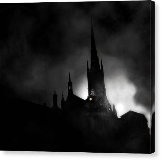 Kyrka Canvas Print by David Fox