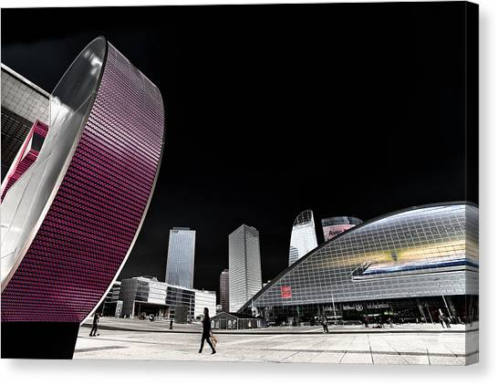 La Defense Paris Canvas Print