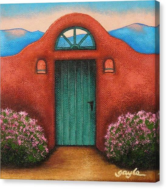 La Puerta Verde Canvas Print