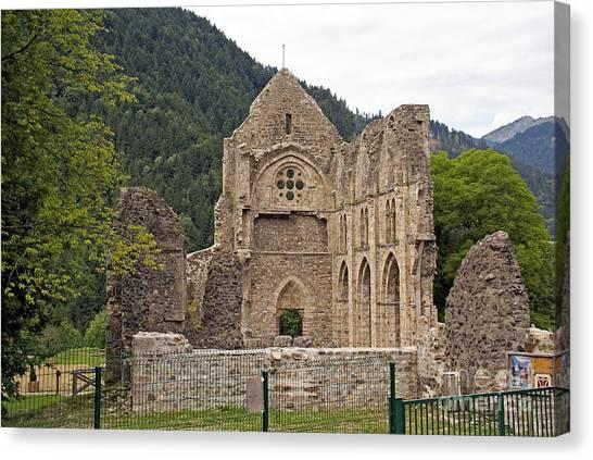 L'abbaye De Saint-jean-d'aulps Canvas Print