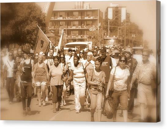 Labor Day Parade Canvas Print