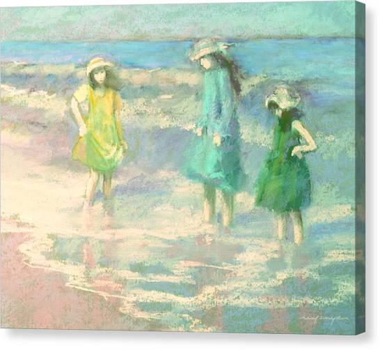 Ladies Day Canvas Print