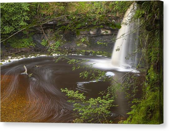 Angel Falls Canvas Print - Lady Falls by Sebastian Wasek