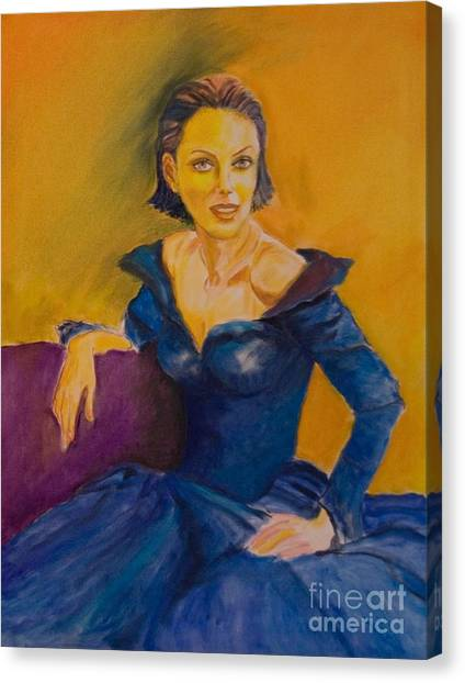 Venetian Lady Canvas Print