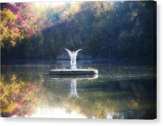 Angel Falls Canvas Print - Lake Angel by Bill Cannon