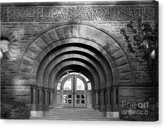 Romanesque Art Canvas Print - Lake Forest College Durand Art Institute by University Icons