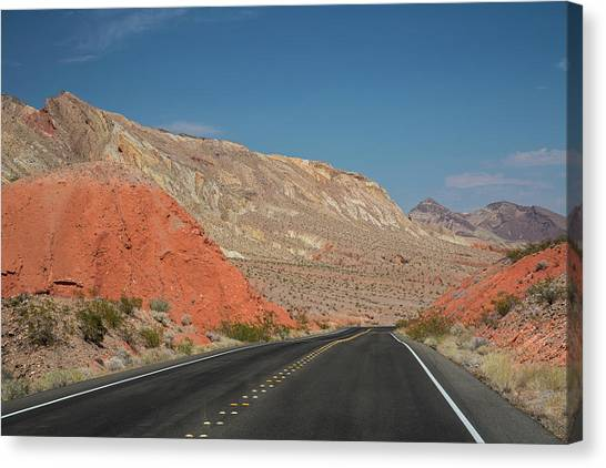 Nra Canvas Print - Lake Mead National Recreation Area by Jim West/science Photo Library