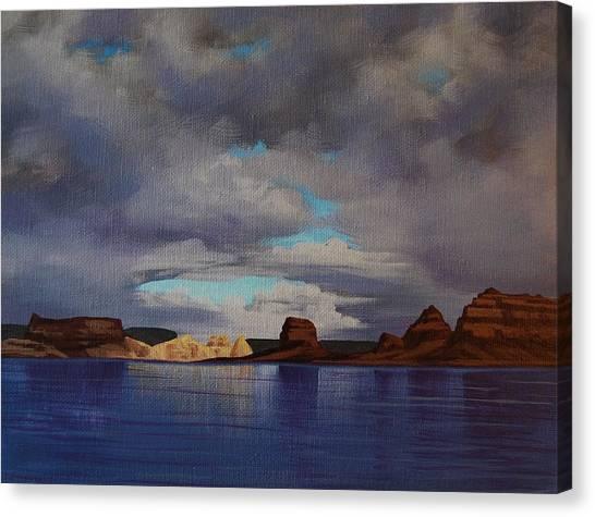 Lake Powell Storm Canvas Print