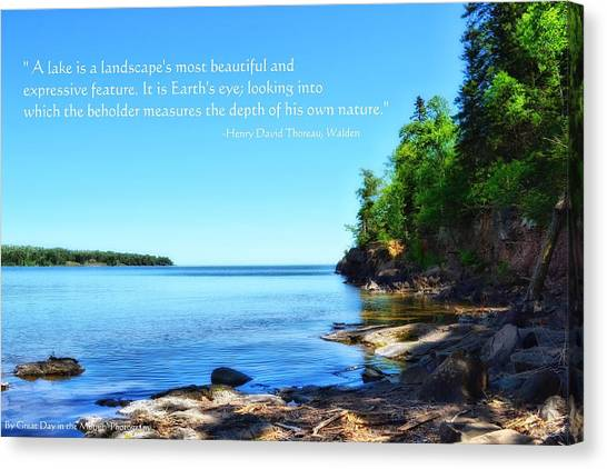 Lake Superior Canvas Print by Michelle and John Ressler