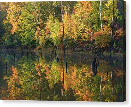 Lake Wedowee Alabama Canvas Print
