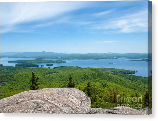 Lake Winnipesaukee Canvas Print