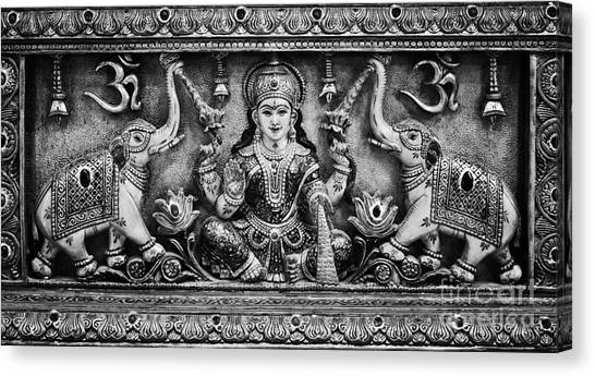 Om Canvas Print - Lakshmi  by Tim Gainey