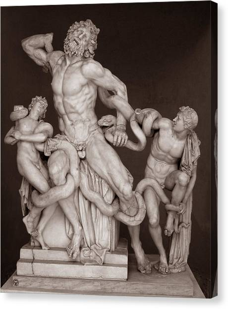 Laocoon And His Sons Canvas Print