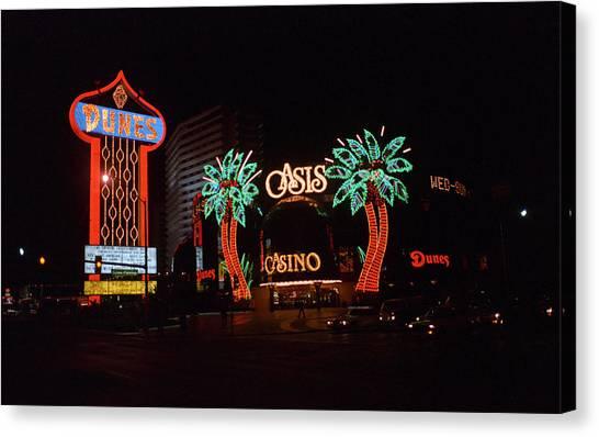 Las Vegas 1983 #2 Canvas Print