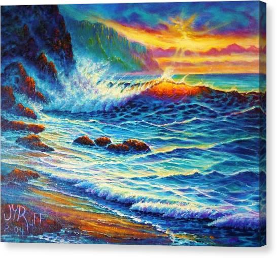 Last Light  Canvas Print by Joseph   Ruff