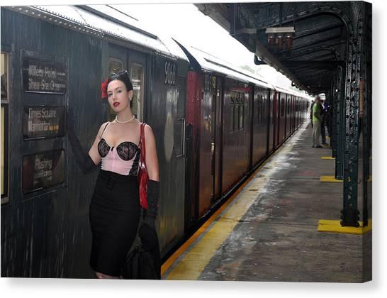 Last Train To Shea Canvas Print