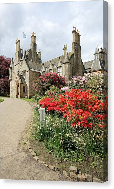 Lauriston Castle Canvas Print