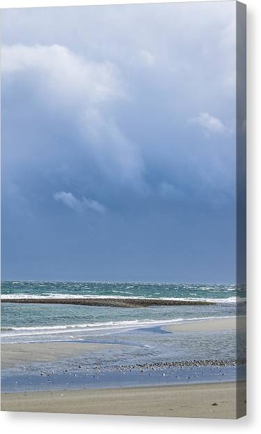 Layers Of March Canvas Print by Tom Trimbath