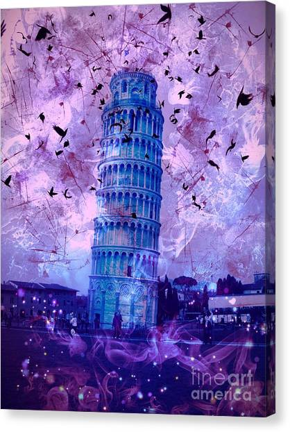 Leaning Tower Of Pisa 2 Canvas Print