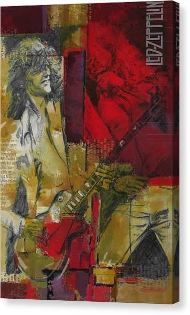 Robert Plant Canvas Print - Led Zeppelin  by Corporate Art Task Force