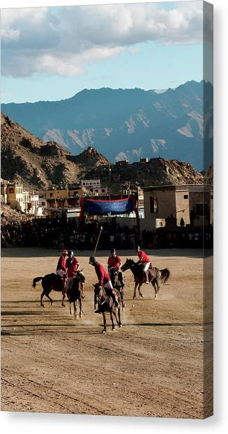 Karakoram Canvas Print - Leh, Ladakh, India by Jaina Mishra