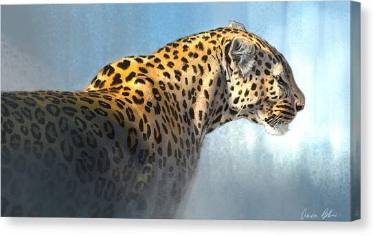 Leopard Canvas Print - Leopard by Aaron Blaise