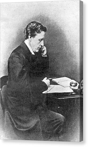 Lewis Carroll Alias Charles Lutwidge Canvas Print by Mary Evans Picture Library