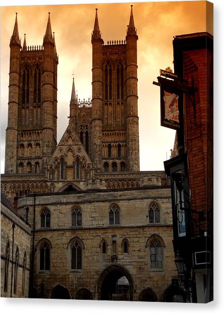 Lincoln Cathedral Canvas Print