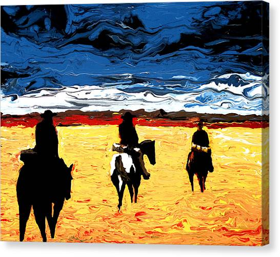 Long Journey Home Canvas Print